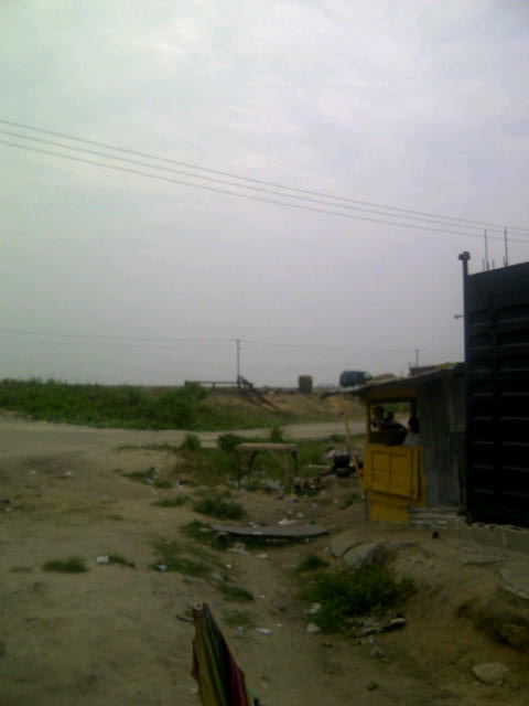 Land view of Lekki Epe Expree Way
