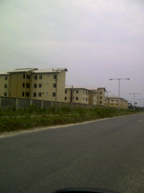 Newly built estate by 120acres @ Abijo Estate