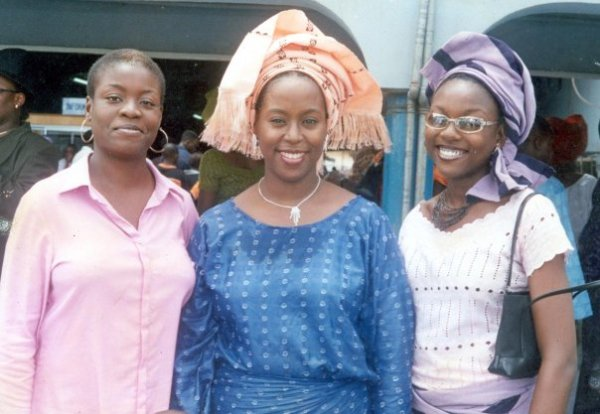 Me, Anne Ugobor and Adaora Onyema