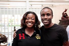 Tolu Ogunlesi and I