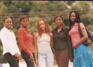 Madonna University! Ezinne, Chichi, Cynthia, Me & Ada