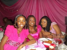 Seun, Pearl and Edidiong